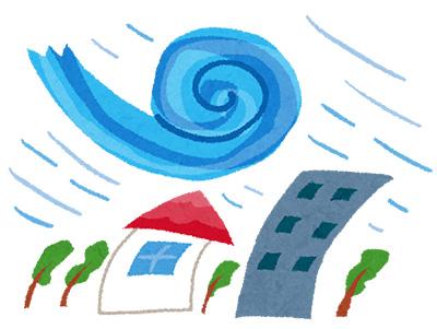 台風イラスト
